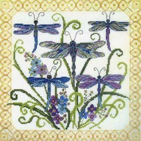 51635 Dragonfly Jewels (Стрекозы)