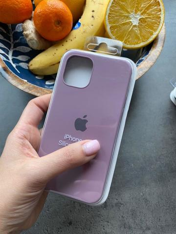 Чехол iPhone 12 (6,7) Silicone Case Full /blueberry/
