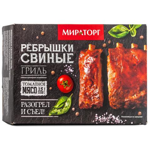 """Ребрышки """"Мираторг"""" свиные гриль, 600 г"""