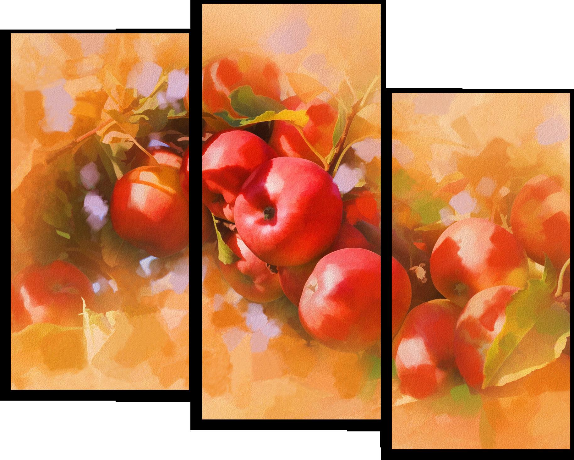 "Еда Модульная картина ""Яблочное утро"" М510.png"