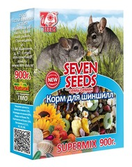 Корм для шиншилл Seven Seeds Supermix