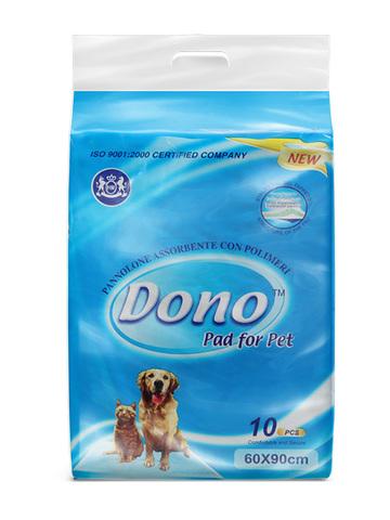 Dono одноразовые впитывающие пеленки размер 60х90 10 штук