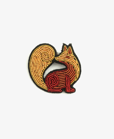 Брошь Russian Fox