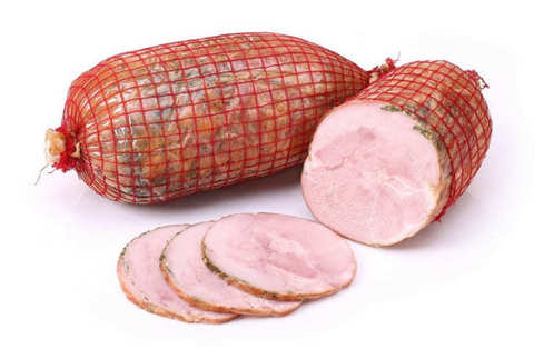 Свинина копчено-вареная