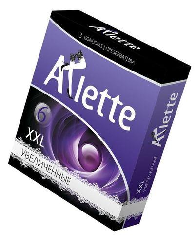 Презервативы Arlette XXL увеличенного размера - 3 шт.