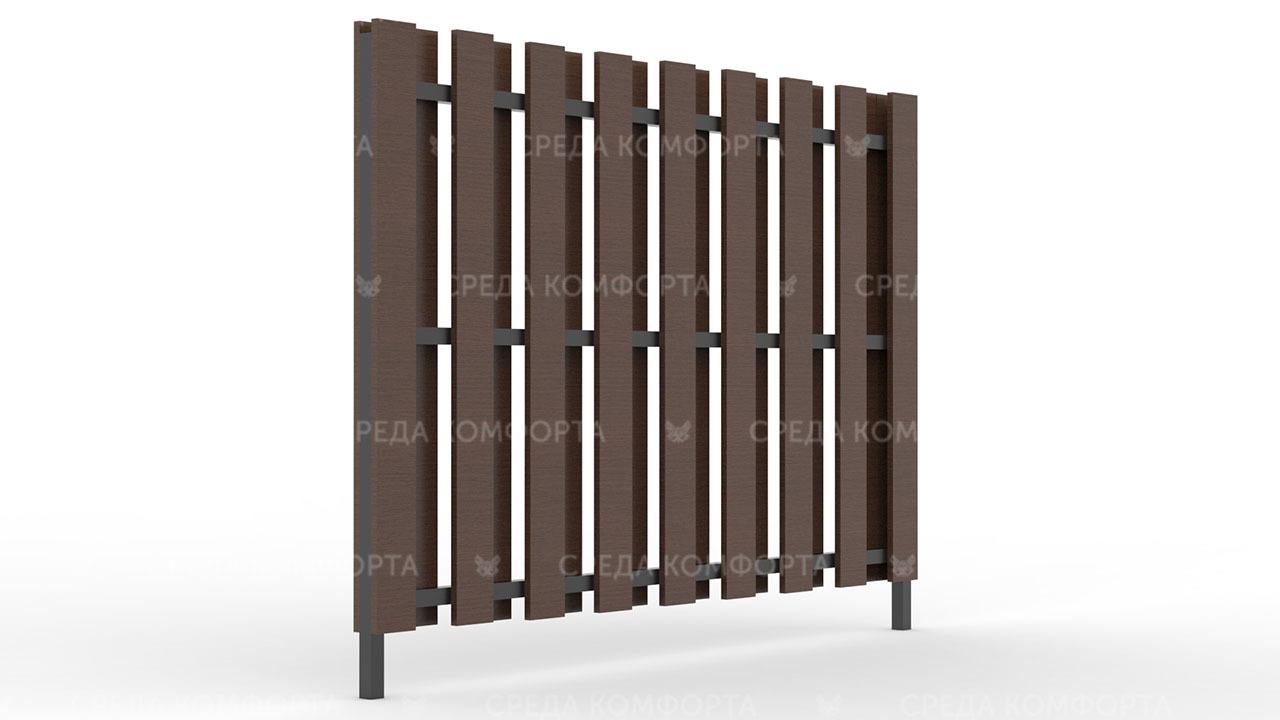 Деревянный забор ZBR0003