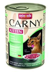 Консервы Animonda Carny Kitten с говядиной, курицей и кроликом для котят