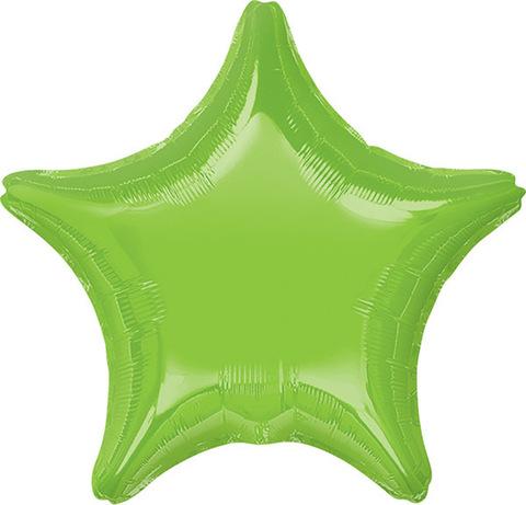 Воздушный шар Звезда (Зеленая)