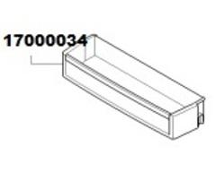 Нижний балкон для холодильника БОШ, Сименс 17000034