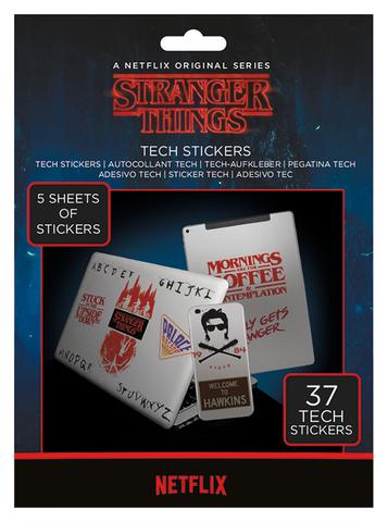 Набор Tech-стикеров «Очень странные дела» (Stranger Things)