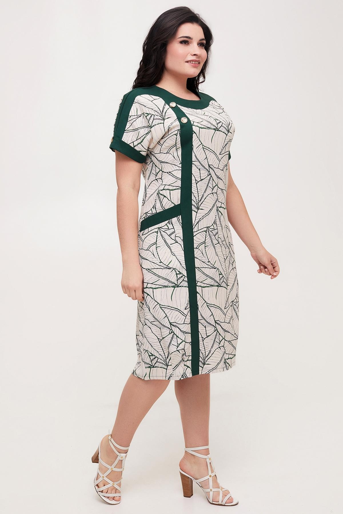 Сукня Олеся (темно-зелений)