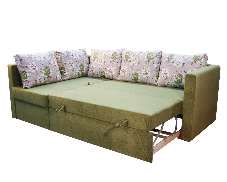 Угловой диван-кровать Карелия 2Я2д, спальное место 138х203 см