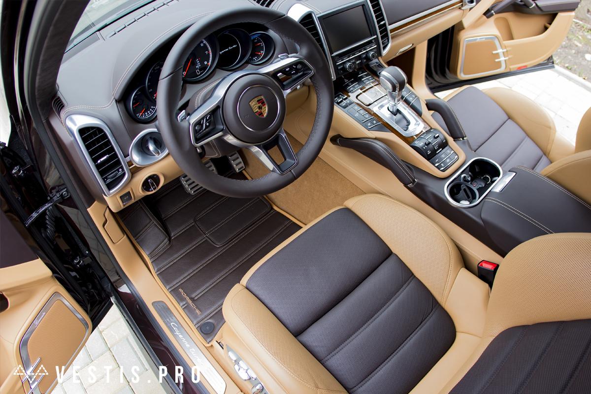 Коврики из эко-кожи Vestis для Porsche
