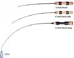 Удилище зимнее LUCKY JOHN C-Tech Perch Soft 50 см, арт. LJ105-01