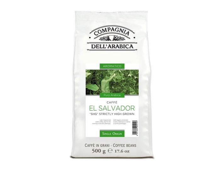 Кофе в зернах Compagnia Dell`Arabica El Salvador
