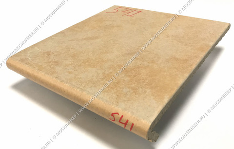 Stroeher - Euramic Cavar E 541 facello 340х294х11 артикул 9350 - Клинкерная ступень - флорентинер