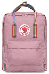 Рюкзак Fjallraven Kanken Classic Rainbow Розовый