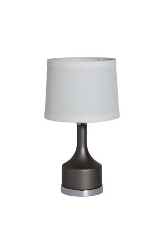 22-88257 Лампа настольная плафон кремовый d25*53см (2)