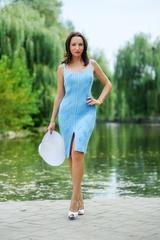 Мастер-класс Облегающее летнее платье