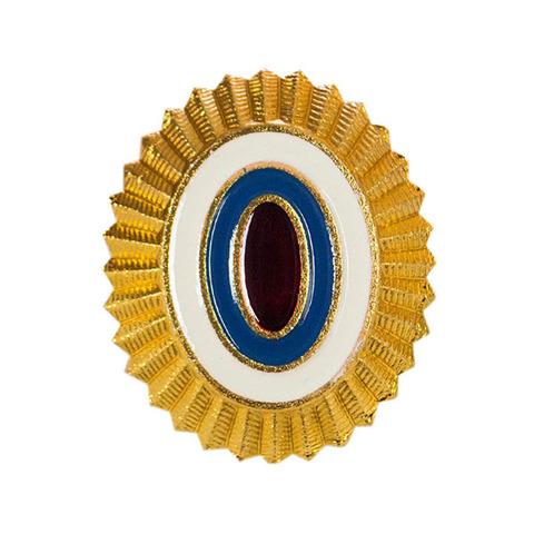 Кокарда полиция золотая