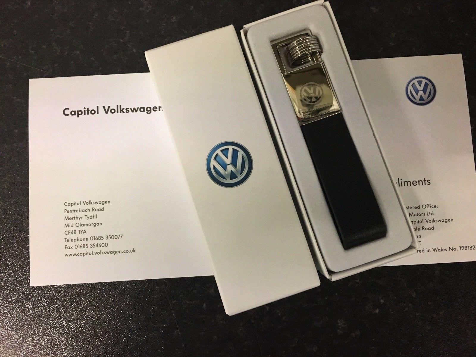 Брелок кожаный Volkswagen
