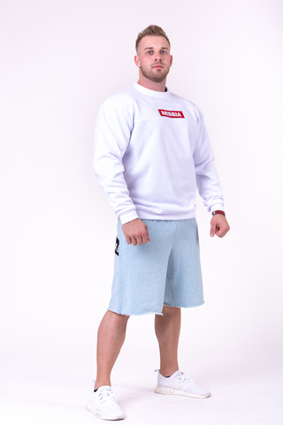 Мужская толстовка Nebbia 148 white
