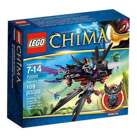 LEGO Chima: Планер Ворона Разкала 70000 — Legends of Chima Razcal's Glider — Лего Легенды Чима