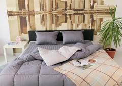 Комплект постельного белья GOCHU Solido set S серый