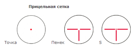 ПРИЦЕЛ КОЛЛИМАТОРНЫЙ ПИЛАД ВОМЗ Р1Х30 (WEAVER)