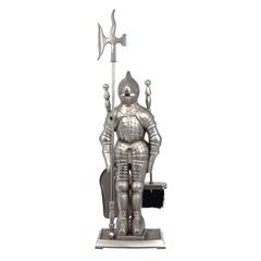 Набор «Рыцарь», 3 предмета на подставке, никель