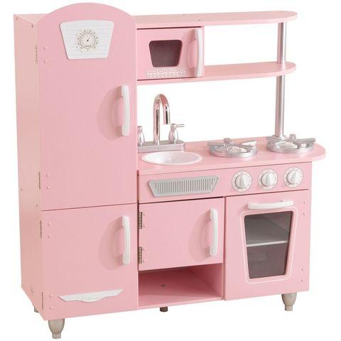 KidKraft Винтаж Vintage (розовая с белым) - детская кухня 53347_KE