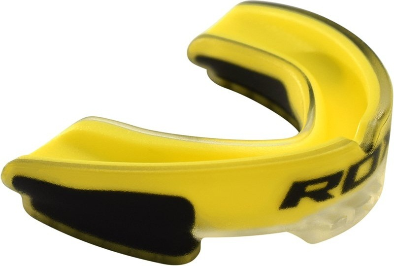 Другая защита Капа RDX Air Max Gel Gum Mouth Guard Adult Yellow 1.jpg