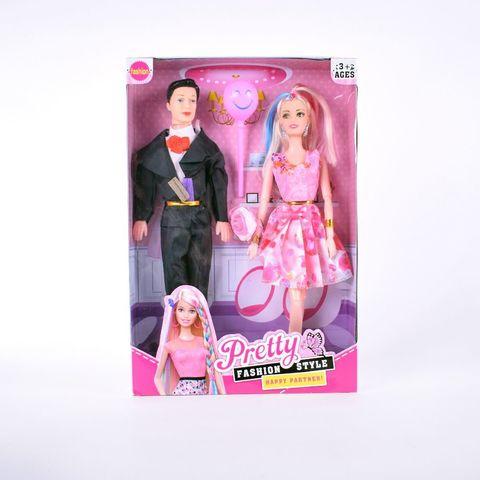 Кукла семья с шариком