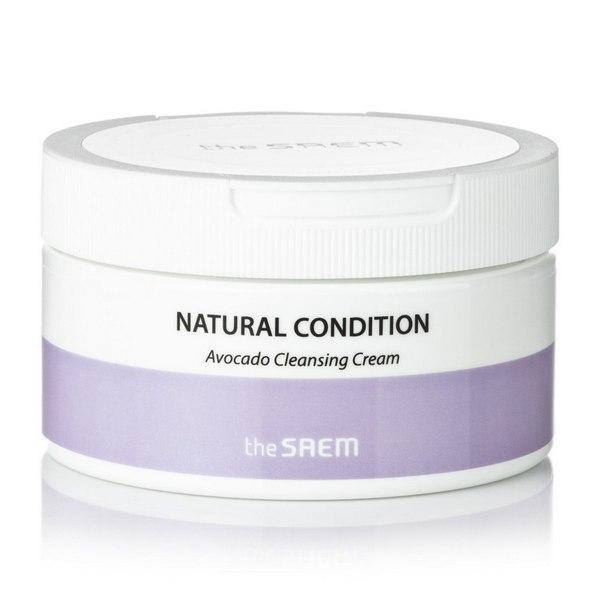 Для снятия макияжа Крем для лица очищающий авокадо the SAEM Natural Condition Avocado Cleansing Cream 300 мл Natural-Condition-Avocado-Cleansing-Cream.jpg