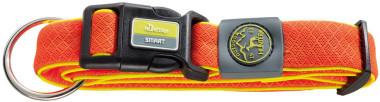 Ошейники Ошейник для собак, Hunter Maui М (36-55 cм)/2,5 см, сетчатый текстиль оранжевый 92706.jpg