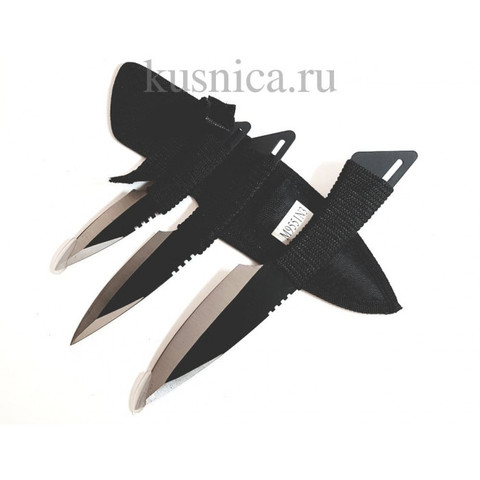 Набор из 3х метательных ножей, сталь 420, арт.M9551N3