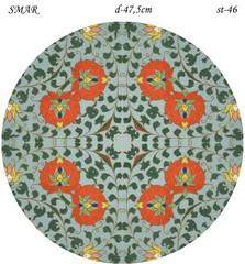 Эскиз для росписи, Круг диаметр-47,5см, SMAR-st-46