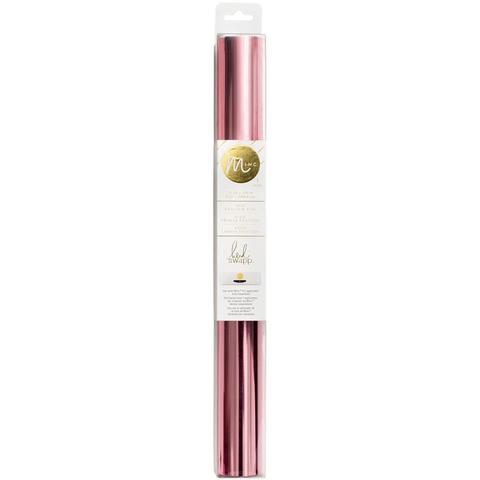 Тонерочувствительная фольга для MINC от Heidi Swapp- Light Pink 10' Roll