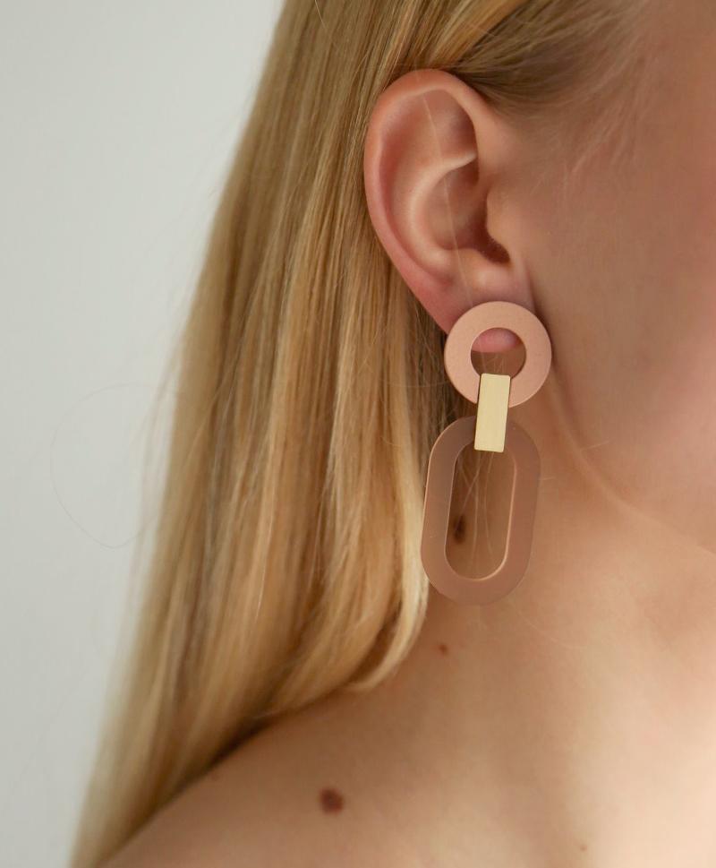 Серьги Lora II Earrings Coffee