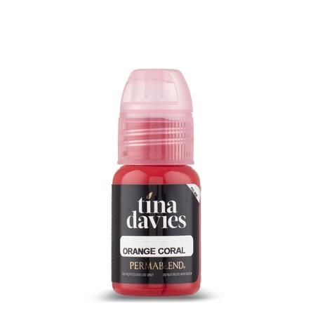 """Набор пигментов для губ """"Tina Davies LUST Lip Collection"""" 6 пигментов, 6 помад, 6 карандашей Permablend"""
