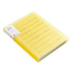 Папка с файлами А4, 20 вкладышей