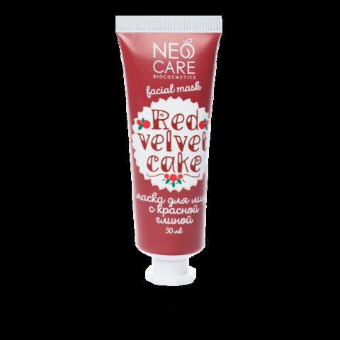 Neo Care Маска для лица Red velvet cake, 30мл