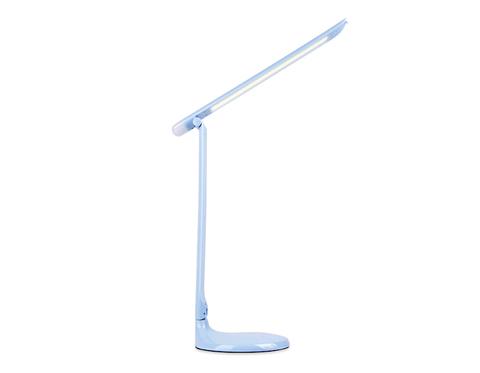 Настольная светодиодная лампа с ночником DE550 BL голубой LED 3000-6400K 8W