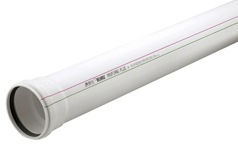 Rehau Raupiano Plus d 110/250 мм труба канализационная (11202641003)