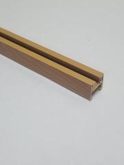 Верхняя направляющая для двери-гармошка, длина 260 см, цвет Груша