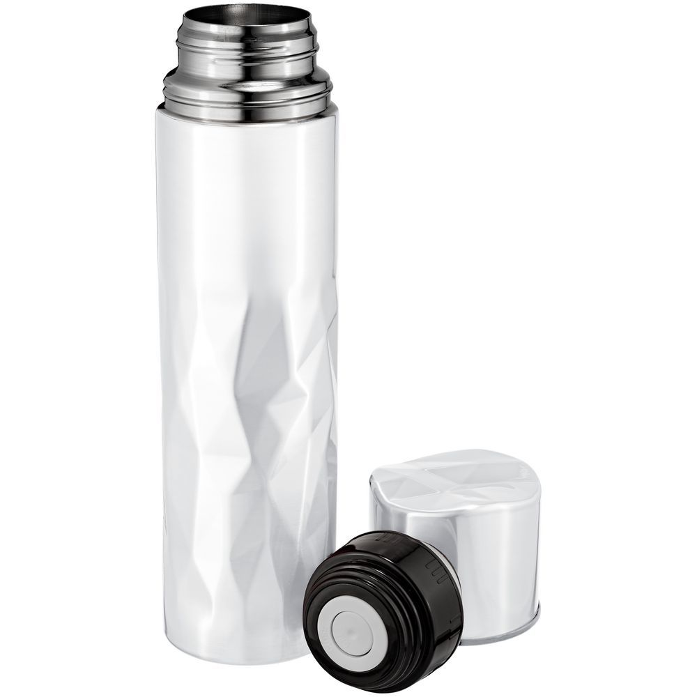 Gems Vacuum Flask, white rock crystal