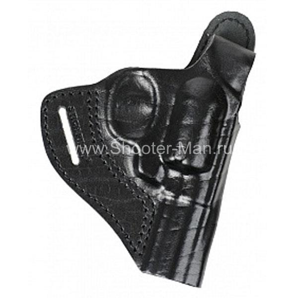 Кобура кожаная для револьвера Гроза Р-03 ( модель № 6 ) Стич Профи
