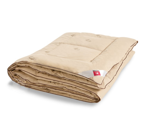 Одеяло теплое из верблюжьей шерсти Верби 140x205