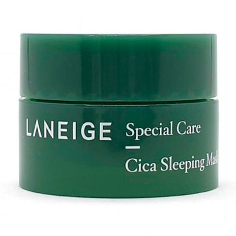 Laneige Cica Sleeping Mask Ночная маска для лица с центеллой 10мл