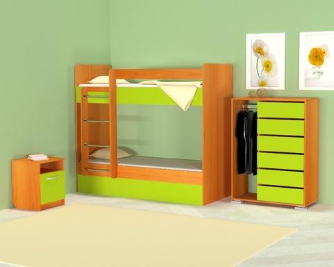 Кровать ОНТАРИО-1800-0700 /1832*1604*852/ левая